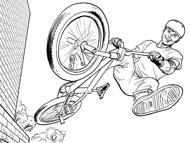 667x500 Coloring Pages To Print Colouring Pages Bike Sketch To Print