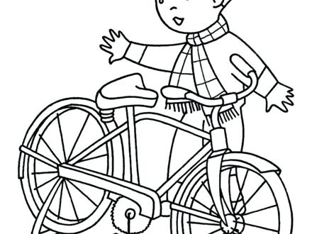 440x330 Free Bmx Bike Coloring Pages Bikes Home S