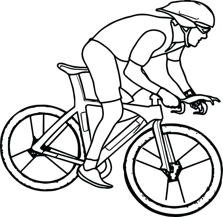 728x706 Bicycle Coloring Pages Bmx Bike Coloring Pages Bicycle Coloring
