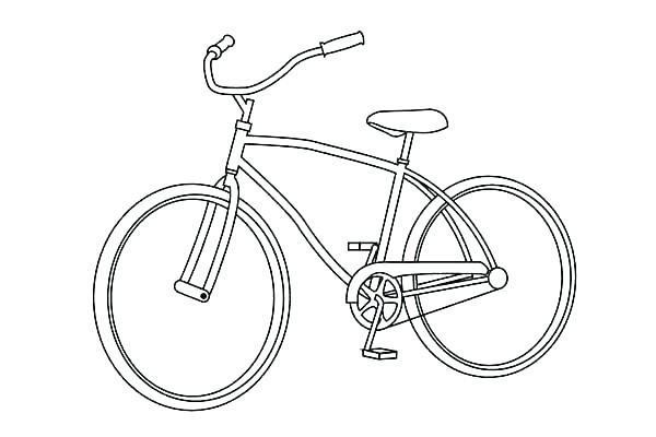600x400 Bike Coloring Page Bmx Bike Coloring Pages Bike Coloring Page Bike