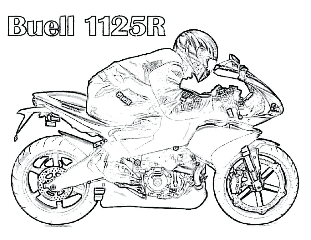 994x768 Bike Coloring Pages Free Dirt Bike Coloring Pages Printable