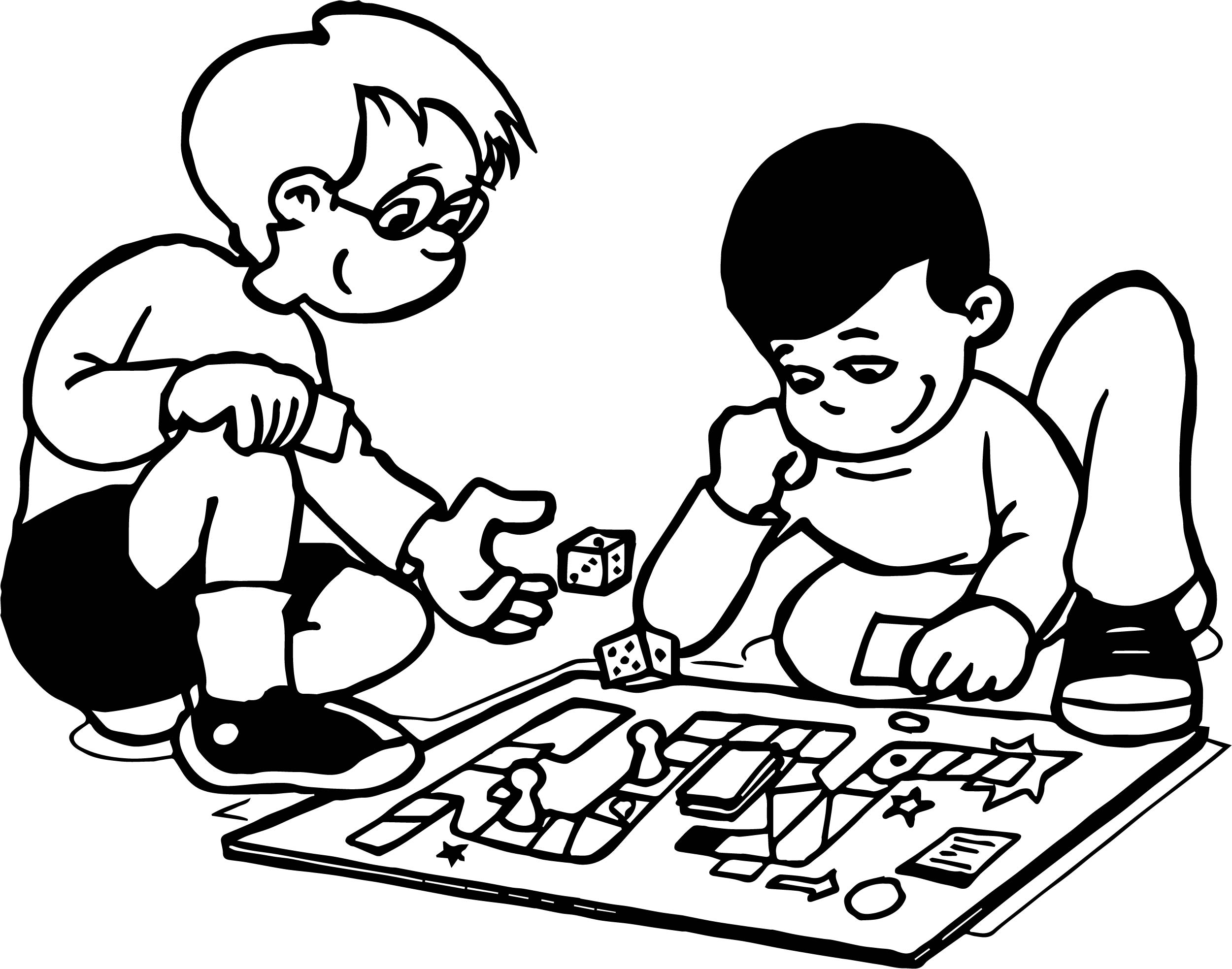 2501x1968 Game Coloring Pages Game Coloring Pages Funny Board Game Coloring