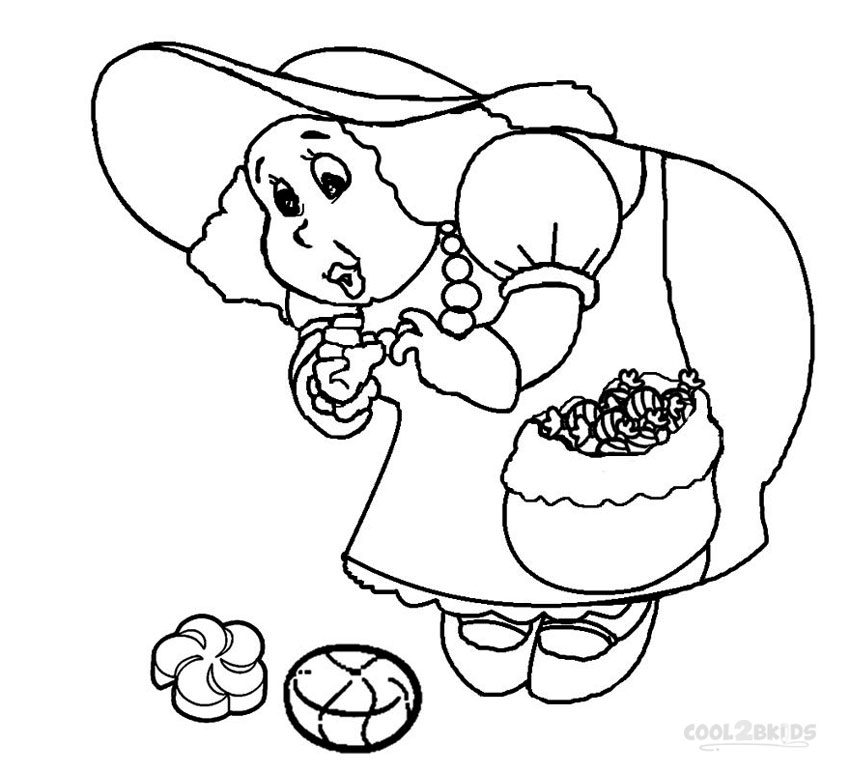 850x773 Printable Candyland Coloring Pages For Kids