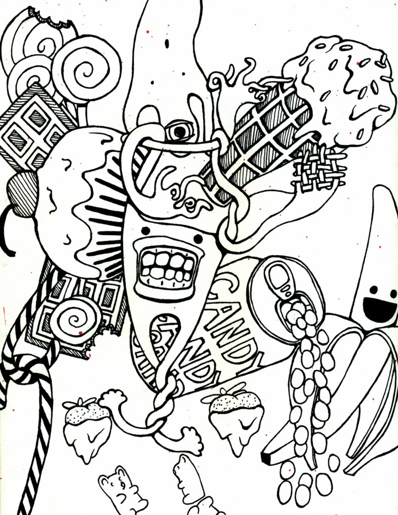786x1017 Candyland Coloring Pages