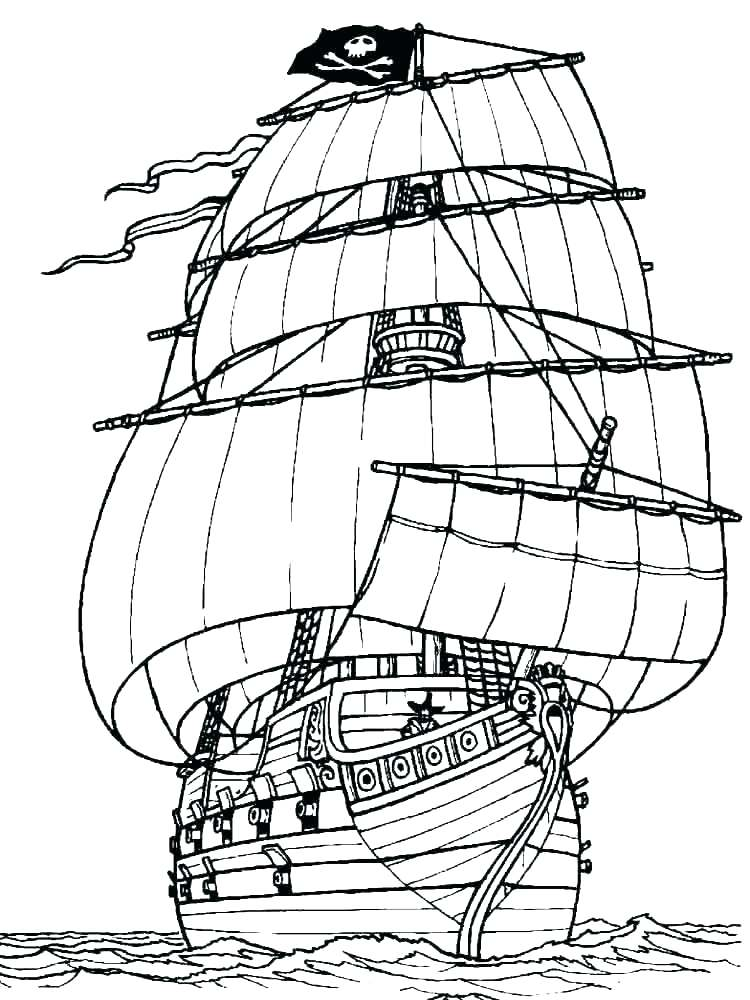 750x1000 Boat Coloring Pages Coloring Pages Of Boats Fishing Boat Coloring