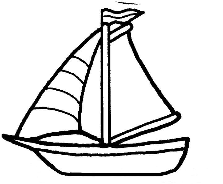 720x595 Chic And Creative Boat Coloring Pages To Print For Kids Out