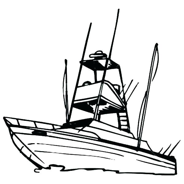 600x600 Coloring Pages Boat Coloring Pages Speed Boats Coloring Pages