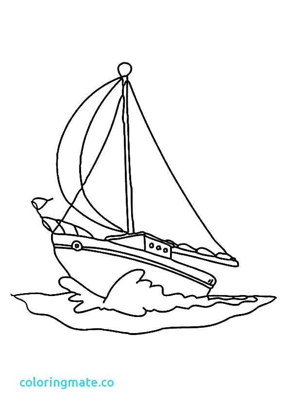 595x842 Fishing Boat Coloring Pages Boat Pictures To Color Nautical