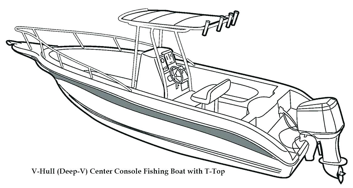 1125x600 Speed Boat Coloring Pages Ship Coloring Page Fishing Boat Coloring