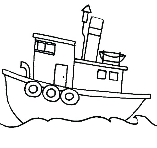 600x566 Boat Coloring Pages Boat Coloring Page Fishing Pages Speed