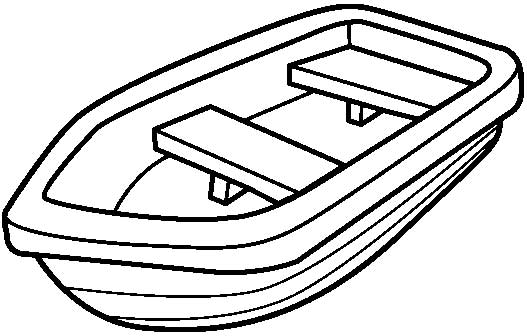 Boat Coloring Pages Free