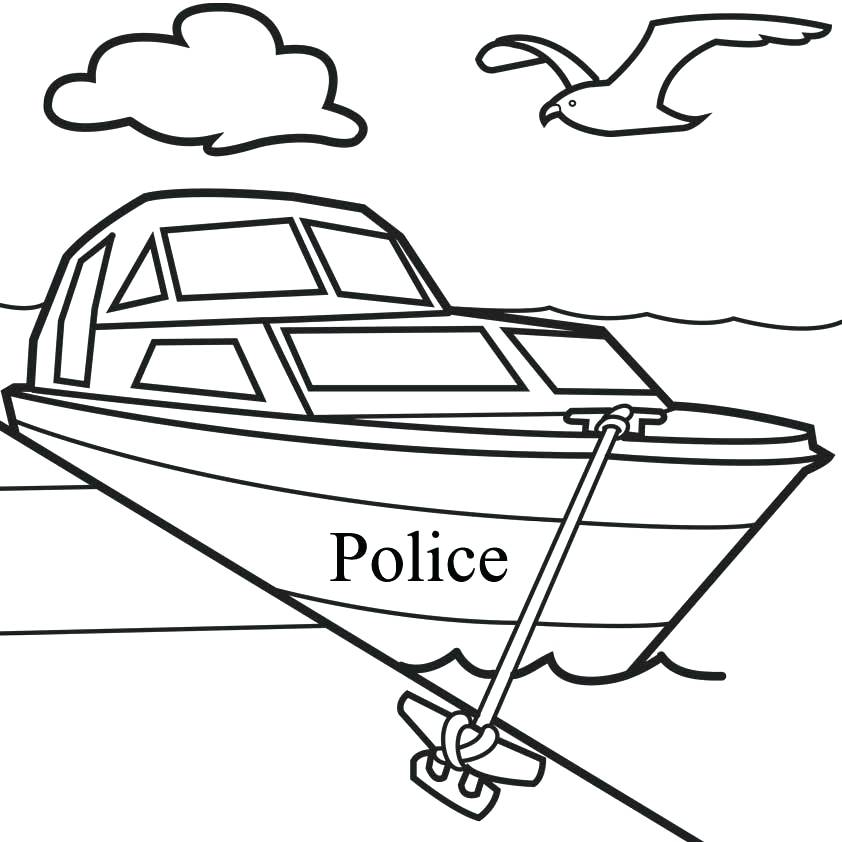 842x842 Fishing Boat Coloring Pages Printable Boat Coloring Pages Free