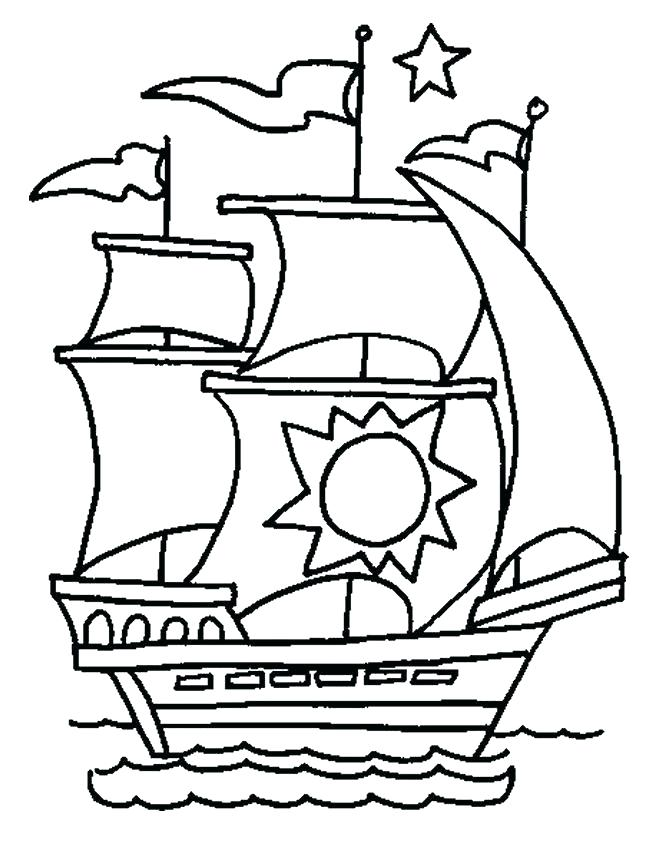 650x850 Free Coloring Pages Sailboat Coloring Pages Of Boats Coloring