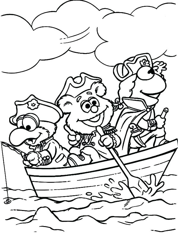 600x792 Muppet Coloring Pages Babies Coloring Pages The Frog And Little