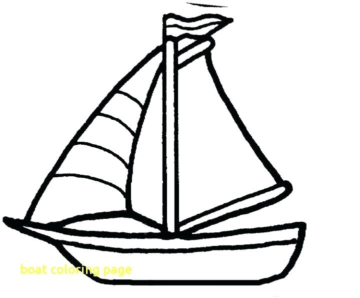 720x595 Boat Coloring Page Boat Coloring Page With Drawn Yacht Coloring