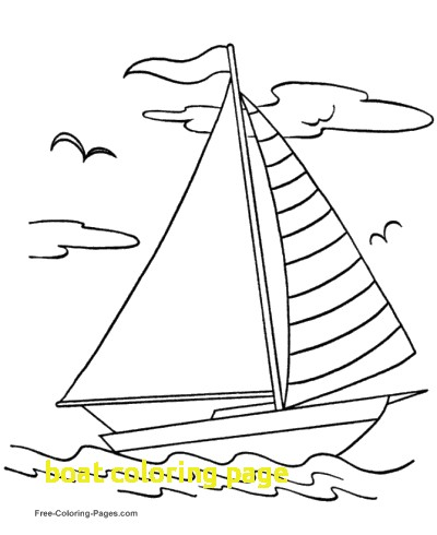 400x490 Boat Coloring Page With Boat Coloring Pages