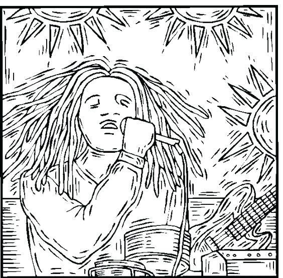564x555 Bob Marley Coloring Pages Bob Coloring Pages Best Make It Colorful