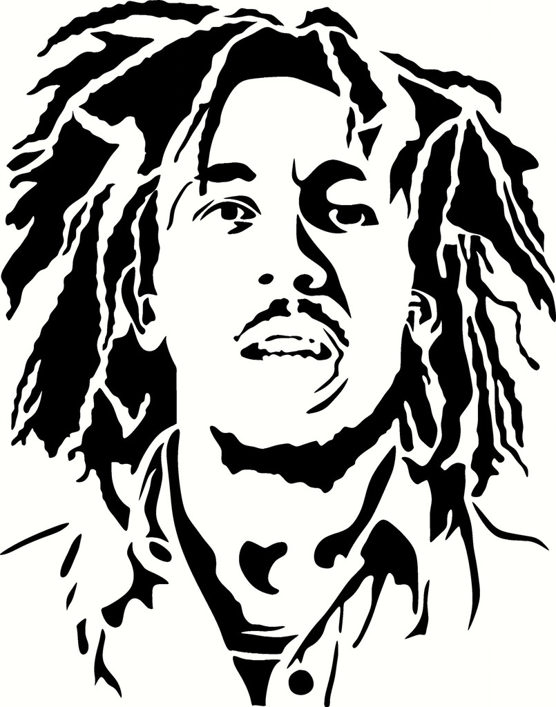 805x1024 Drawing Bob Marley Bob Marley Drawing Bob Marley Coloring Pages