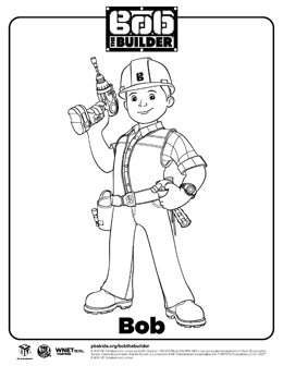 Bob The Builder Coloring Pages At Getdrawings Com Free For