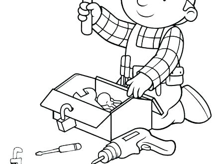 440x330 Bob The Builder Coloring Pages Bob The Builder Bob The Builder