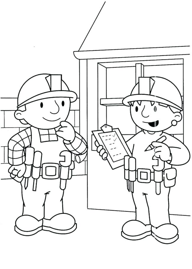 650x910 Bob The Builder Coloring Pages Printable Photos Of Bob The Builder
