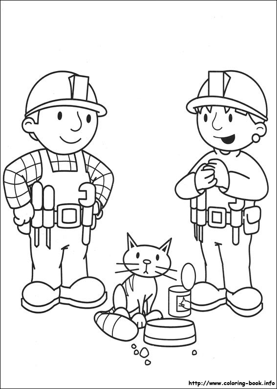 567x794 Bob The Builder Coloring Pages Printable Bob The Builder Coloring