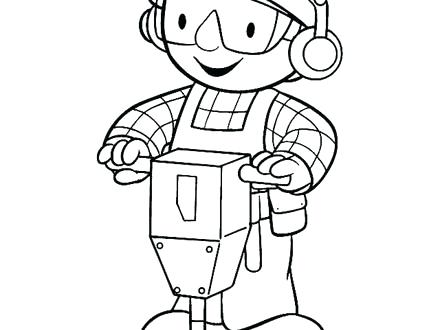 440x330 Bob The Builder Colouring Pages Online Free Coloring Page Maker