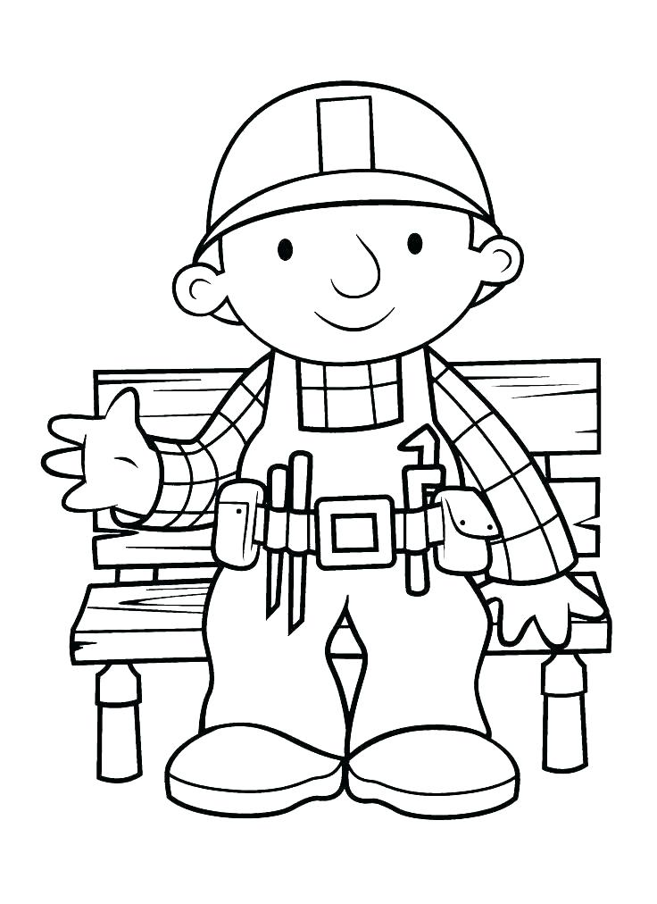736x1012 Bob The Builder Scoop Coloring Pages Bob The Builder Coloring Page