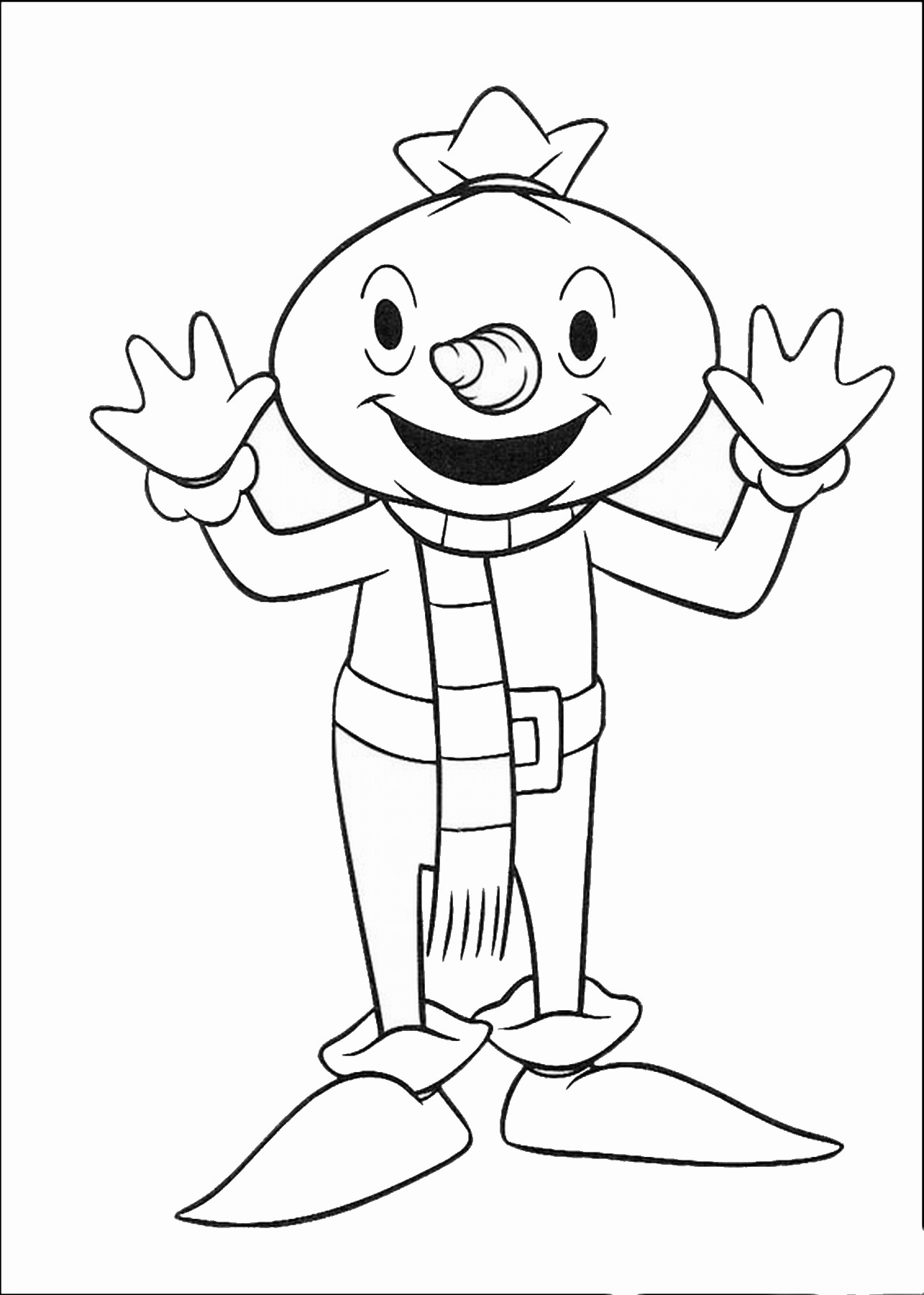 1285x1800 Bob The Builder Coloring Pages