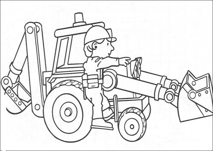 700x499 Absolutely Design Bob The Builder Coloring Pages Printable Online
