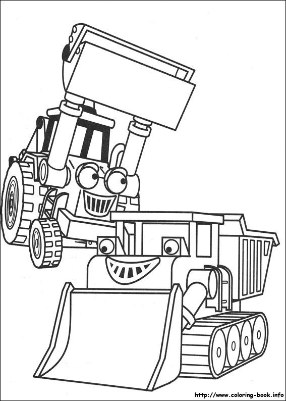 567x794 Bob The Builder Coloring Picture Kids Bobs