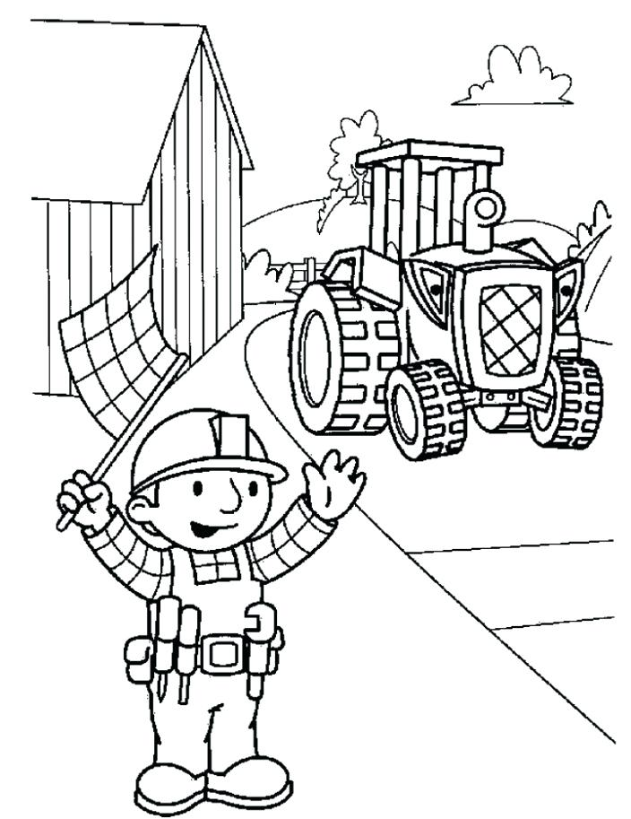 704x913 Free Printable Bob The Builder Coloring Pages For Kids Print Bob