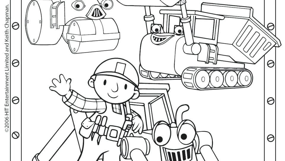 960x544 Hello Kitty Bob Builder Barney Train Coloring Page As Well As