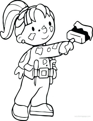 385x500 Coloring Pages Bob The Builder Coloring Pages Bob The Builder