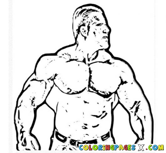 530x487 Jay Cutler Coloring Page Coloring Pages Jay Cutler Bodybuilder