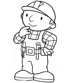 236x283 Nice Bob The Builder Coloring Page Mcoloring Bobs
