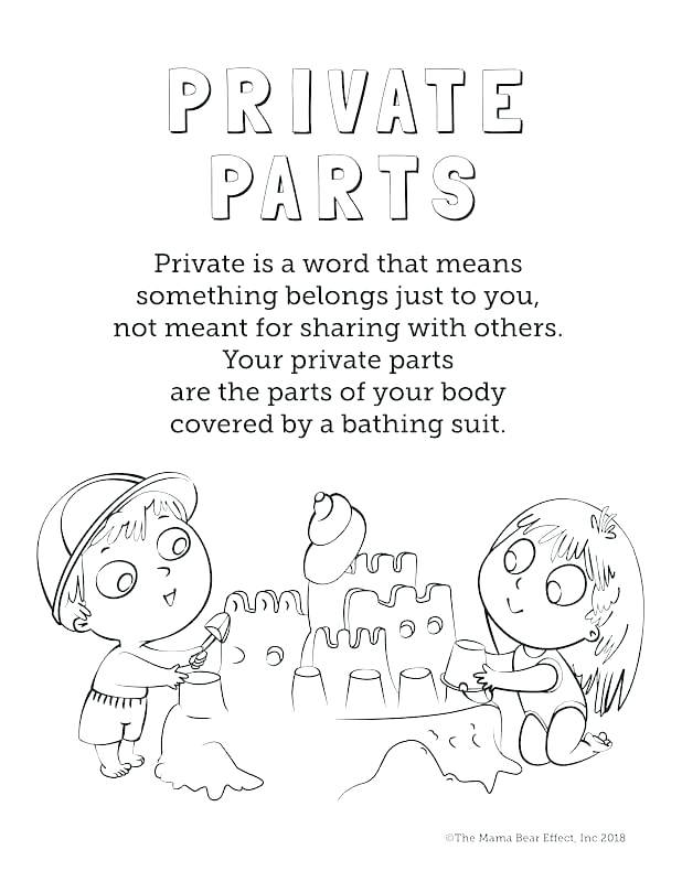 618x800 Body Parts Coloring Pages For Preschool Coloring Pages For Adults