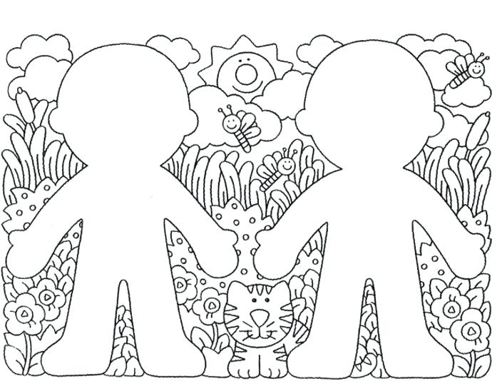 704x534 Coloring Pages Body Parts Preschool Coloring Pages Free
