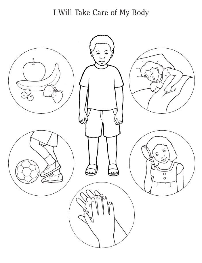 702x914 Human Body Coloring Pages To Download And Print For Free