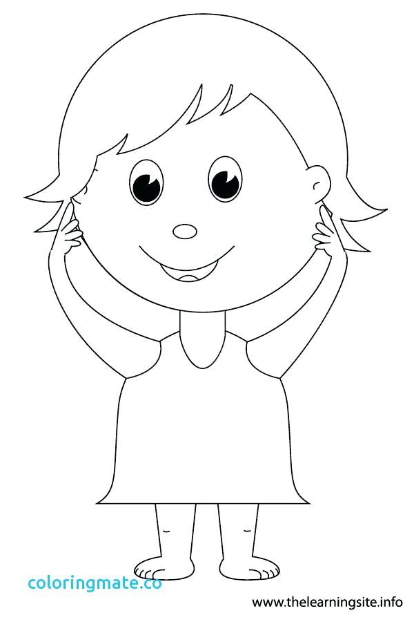 600x900 Body Coloring Pages Body Coloring Page Luxury Body Parts Coloring