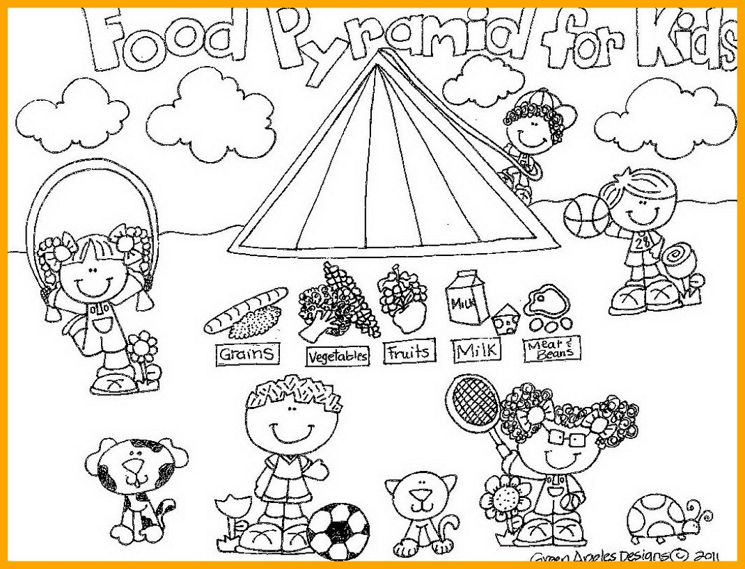 1070x818 The Best Body Parts Coloring Pages Preschool Memy Theme Learn My