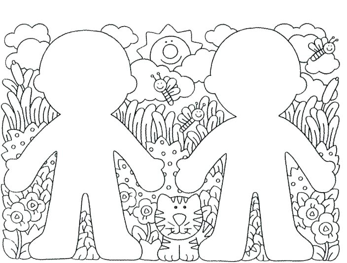 704x534 Free Preschool Coloring Pages Body Parts Coloring Pages