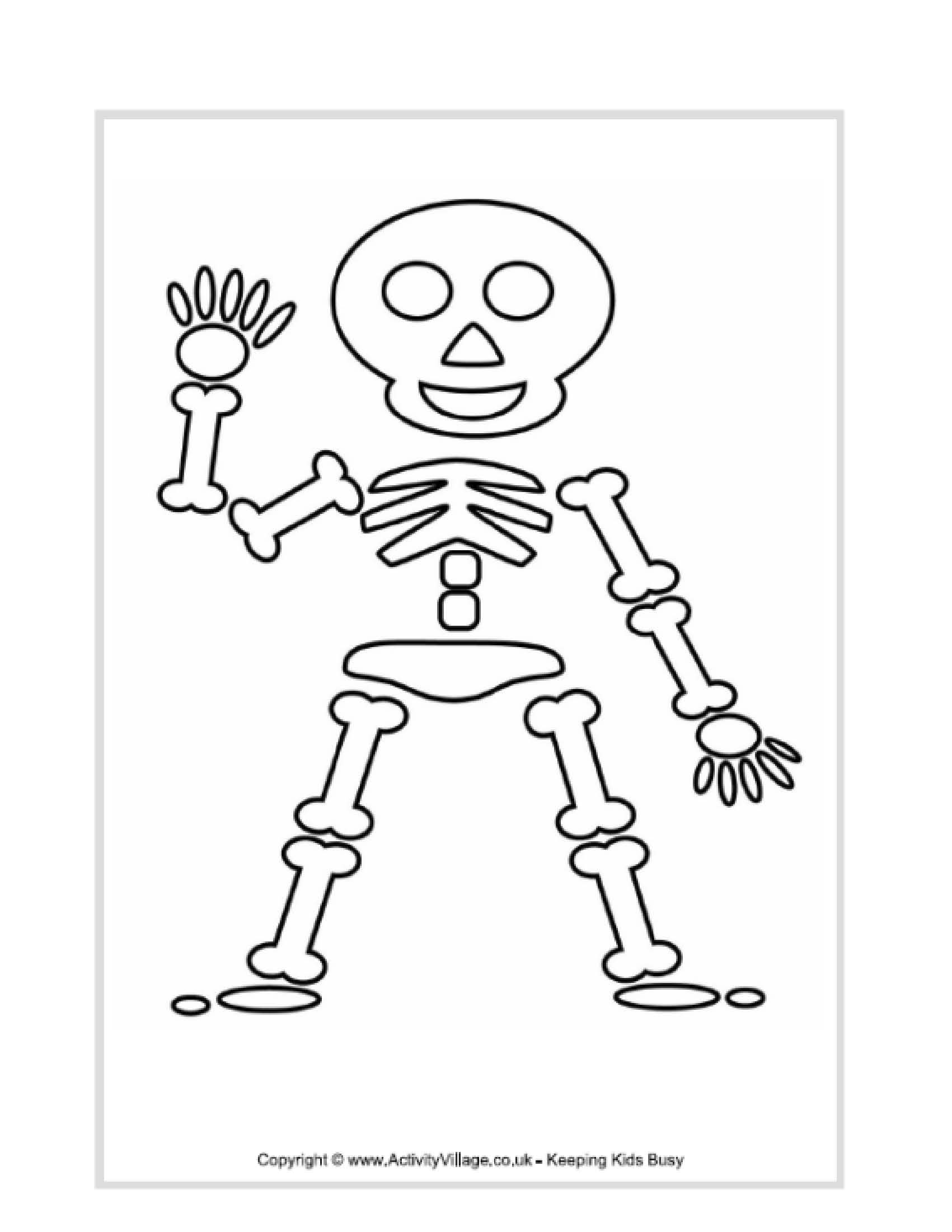 1701x2201 Coloring Pages Body Parts