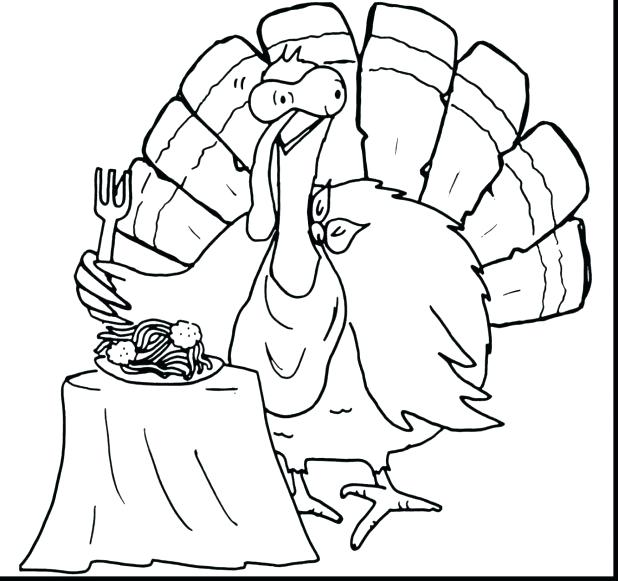 618x581 Turkey Body Coloring Page Printable Feathers Body Coloring Pages