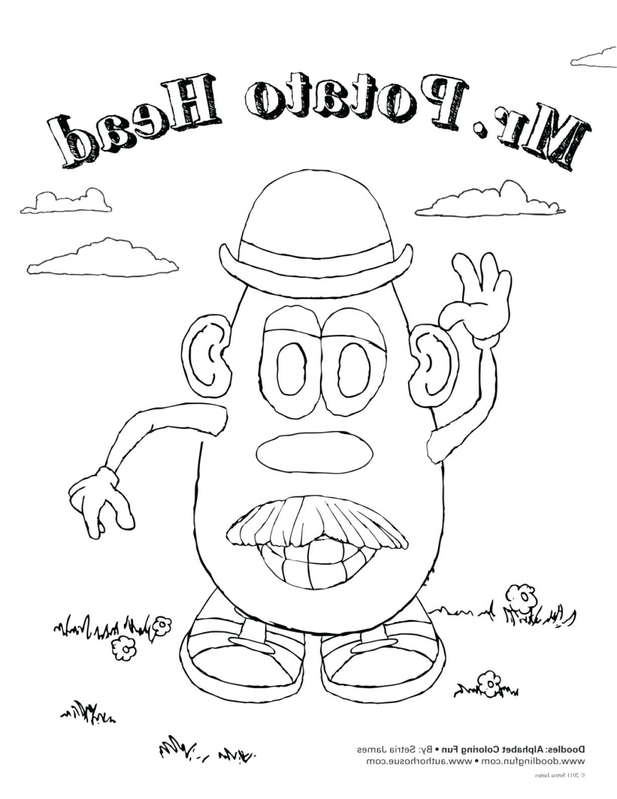 1228x1591 Terrific Butterfly Coloring Pages With Bug And Cartoon Potato