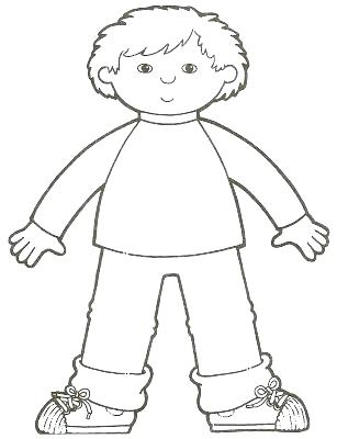 307x400 Body Coloring Pages Ankle Body Parts Coloring Page Body Coloring