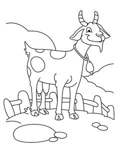 236x305 Fresh Boer Goat Coloring Pages