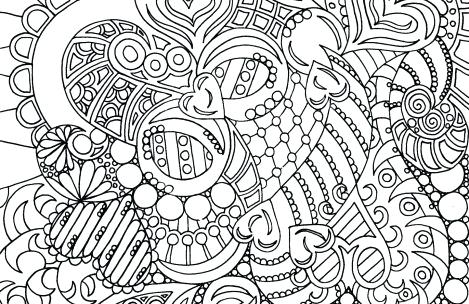469x304 Boho Coloring Pages Coloring Pages For Girls Abstract Boho