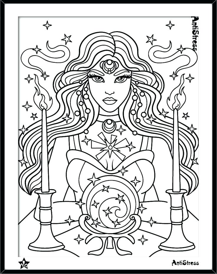 736x929 Boho Coloring Pages Coloring Pages Stunning Gypsy Coloring Pages