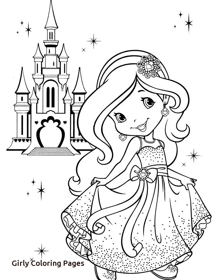 736x952 Girly Coloring Pages Free Printable Simple Boho Girly Coloring